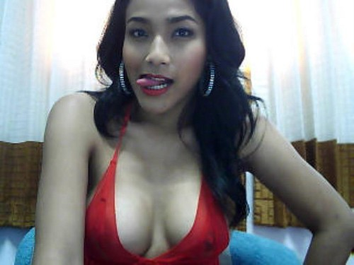 Curvy Asian Tranny Goes Wild Tonight On Live Cam