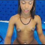 Wild Black Cam Shemale Loves Using Her Sex Toy