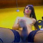 Dirty Minded Cam Tranny Girl On Her Solo Show