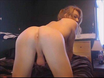 Nasty Slim Tranny Makes Us Horny On Webcam