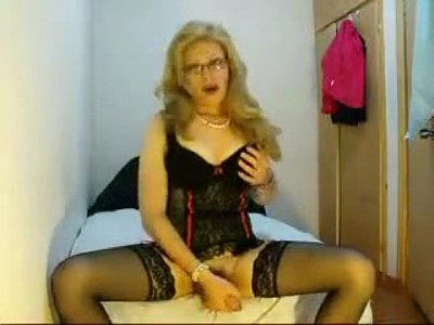 Wondrous Mature Shemale Plays For Us On Cam