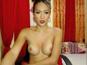 My Lonely Asian Shemale Does A Hot Solo Webcam Session