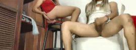 Two Latina Trannies Masturbate On Free Live Webcam