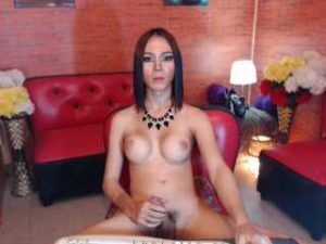 Busty Tranny Lorenllove Plays With Her Prick On Cam