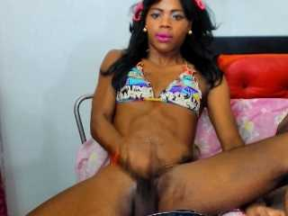 Webcam Ebony shemale