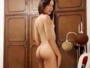 Skinny Latina Tgirl Strip Dance After Smoking Weed