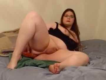 BBW Tgirl Fucks Herself With Dildo